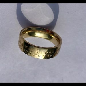 Brass Ring with quote (11)